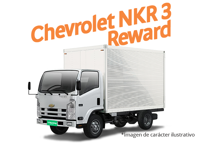 Chevrolet NKR 3-Recompensa